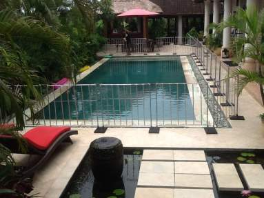 pool fence rental bali