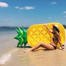 Pineapple floating